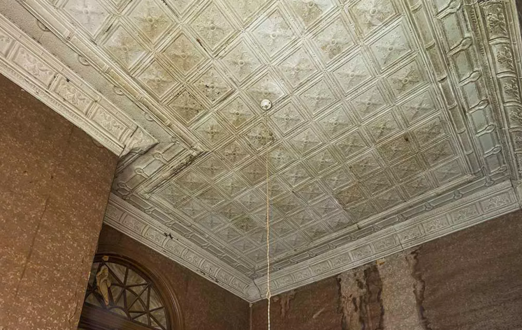 401 w. main street ceiling haw river.png