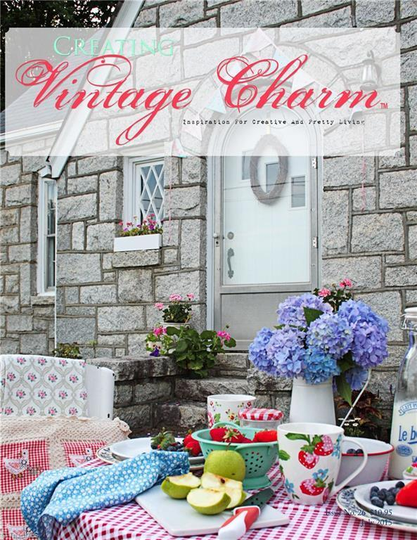 Vintage Charm magazine cover